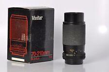 Vivitar Canon FD 70-210mm f/4.5-5.6 Manual Focus Tele Lens Canon