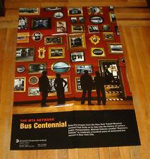 MTA NYCTA SUBWAY ART POSTER BUS CENTENNIAL 2005