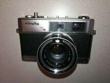 VINTAGE MINOLTA 7S HI-MATIC RANGEFINDER 35mm CAMERA WITH 45mm 1.8 LENS W/ Case