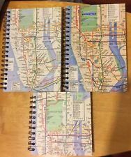 Mta New Blank Notebooks Lot Of 3 Spiral Bound Blank See Pictures