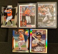 Houston Astros 5 Card Lot -  ALTUVE, COLE, SPRINGER! PRIZM, #'D, RARE! SP