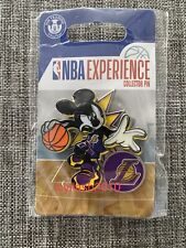 Disney Mickey Mouse NBA Experience Pin Los Angeles Lakers