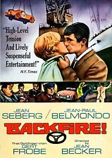 Backfire (1964) (DVD) (Widescreen) (Restored) Jean-Paul Belmondo & Jean Seberg
