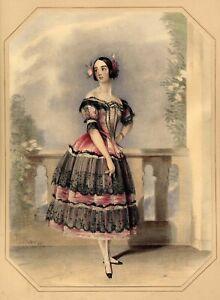 John Frederick Lewis Yolande Duvernay Ballet Opera Hullmandel 1837 RARE