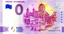 83 FRÉJUS - SAINT-RAPHAËL Port et Hermès bicéphale, 2021, Billet Euro Souvenir