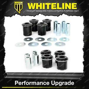 Whiteline Front Control Arm Lower Upper Bush Kit for Ford Ranger PX 2WD 4WD