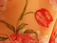 WOMENS Positive Attitude Sheer Floral Summer Flowing Beach Skirt set Ladies P8