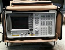 Hp Agilent 8590l Spectrum Analyzer 9khz 18ghz Opt 015 041 With Carry Case