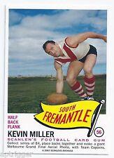 2007 - 1966 Scanlens Archives Flag Series (56) Kevin MILLER South Fremantle ****