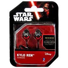 Star Wars Kylo Ren Earbud Earphones Headphones Anime Manga NEW