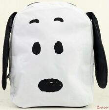 "Brand New  Snoopy 3 D Ears 10""  Mini Backpack Bag  For Kids Boys Girls - White"