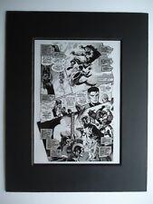 X-MEN HIDDEN YEARS # 4 JOHN BYRNE & TOM PALMER MR FANTASTIC Pg 10 PRODUCTION ART