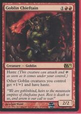 4 goblin chieftain m11 mtg magic the gathering NM/VG Red CNY