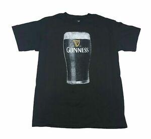 Guinness Men's T Shirt Pint Of Beer Dark Stout