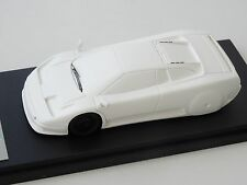 ALEZAN MODELS . 1/43 . BUGATTI EB 110 . 1er NOSE VERSION . WIND TUNNEL
