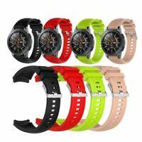 Neu Sport Silikon Band Armband Uhrenarmbänder Für Samsung Galaxy Watch 42mm 46mm