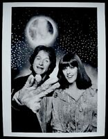 Robin Williams Pam Dawber Mork & Mindy Press Photo 1978 ABC Snipe Date Stamp VTG