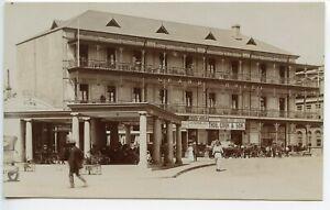 Thos Cook Superb SAPSCO real photo card - GRAND HOTEL PRETORIA & OFFICES