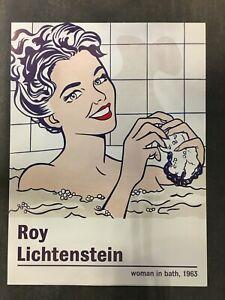 Roy Lichtenstein - Woman in Bath,1963 - 2013 - Offset Poster