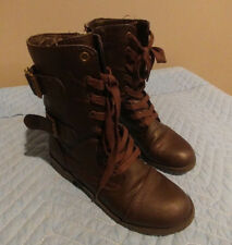 Girls, Self Esteem, Boots, Shoes, Youth, Brown, Size 7