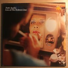 "Patti Austin ""Live At The Bottom Line""1979 CTI Records LP Soul Easy Listening NM"