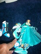 Disney Jasmine Shoe - Mouse Hat - Gown Figurine Ornament