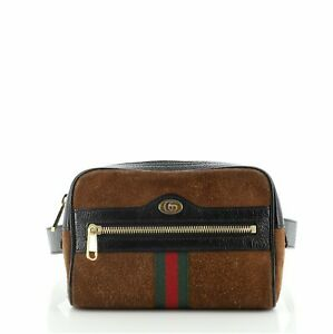 Gucci Ophidia Belt Bag Suede Small 105