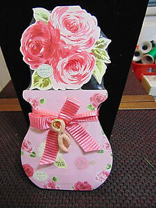 Breast cancer note pads w/pin  Lady Jayne New in wrapper  free shipping
