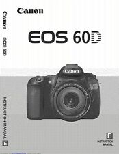 Canon EOS  60D 113 Page OWNER 'S INSTRUCTION MANUAL