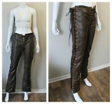 Ravenswood Leather Los Angeles Tie up Pants costume Medieval Renaissance