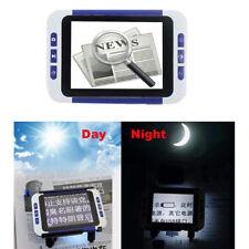 Loupe électronique numérique LCD de 3,5 po, aide à la lecture 2-32X