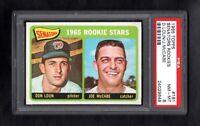 1965 TOPPS #181 SENATORS ROOKIE STARS PSA 8 NM/MT CENTERED!