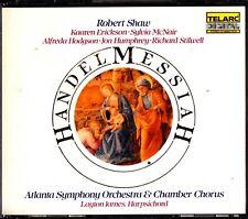 Handel: Messiah, Atlanta Orchestra 2-CD -Robert Shaw (Layton James) Telarc