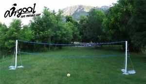 Portable Inflatable AIR GOAL - Volleyball Net - Indoor/Outdoor