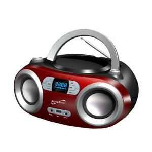 Portable Bluetooth Audio System: CD Player, FM Radio, MP3 Player (SC-509BT)