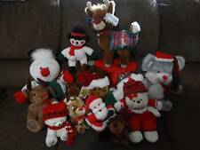 13 CHRISTMAS / WINTER STUFFED ANIMALS NEW GREAT GIFT IDEA