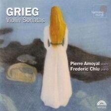 Grieg - Violin Sonatas Amoyal Chiu Harmonia Mundi CD New