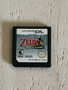 Nintendo DS Zelda Spirit Tracks Tested Working - Authentic - Cartridge Only
