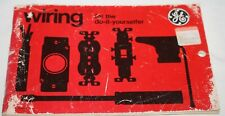 1979 GE Wiring for the do-it yourselfer BOOKLET, 87 pages, Illustrated, Black/Wh