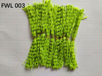 10 Bundles 50 Strands Silicone Skirts Fishing Tackle Buzz Spinner Jig Bass WL003