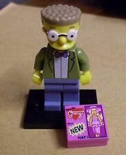 Lego Die Simpsons Figur - Waylon Smithers ( Gehilfe Mister Burns Zubehör ) Neu