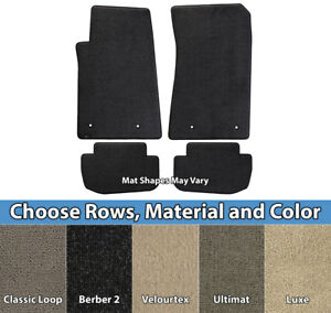 Lloyd Mats - Custom Fit Carpet Floor Mats - Pick Mat Combos, Material & Color