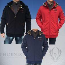 Cappotti e giacche da uomo con cappucci rossi l