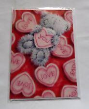 """Très Jolie Carte Postale + Enveloppe Me to you Coeur Love """" J'adore les Câlins"""""""