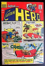 JUGHEAD as CAPTAIN HERO #6 1967 Archie Comics FN 6.0 Silver Age