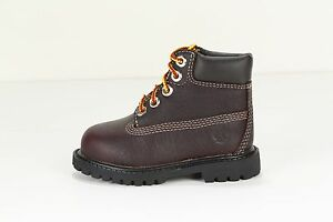 """TIMBERLAND Toddler's 6"""" Premium Boot 1687A (M) Brown (msrp: $70)"""