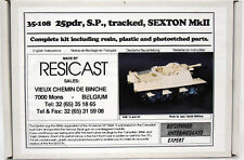 Resicast 35-108  | 25pdr, S.P., tracked, Sexton Mk.II _Resin | 1:35 -NEU-
