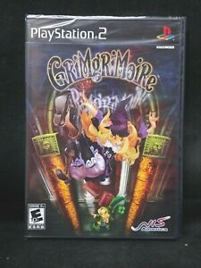 GrimGrimoire (Playstation 2/PS2) BRAND NEW