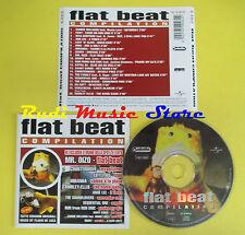 CD FLAT BEAT compilation 1999 ANN LEE FOXY EIFFEL65 MIRANDA (C1)no lp mc dvd vhs