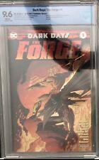 Dc Dark Days the forge 1 Foil Cover B Sdcc 17 Variant Cbcs 9.6 Batman & Aquaman